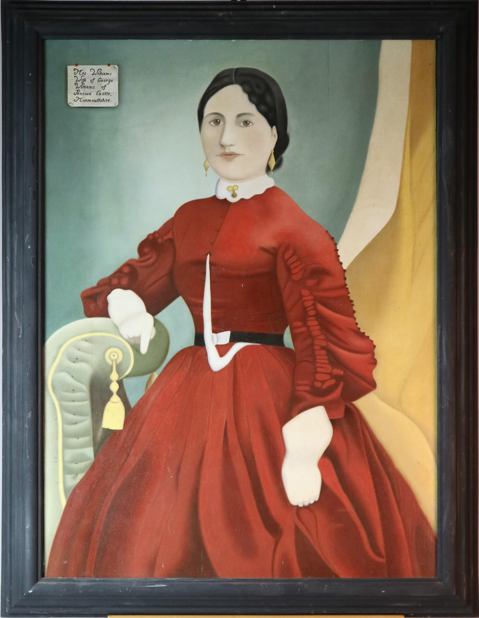 Long Lost Relatives portraits Halls Fine Art