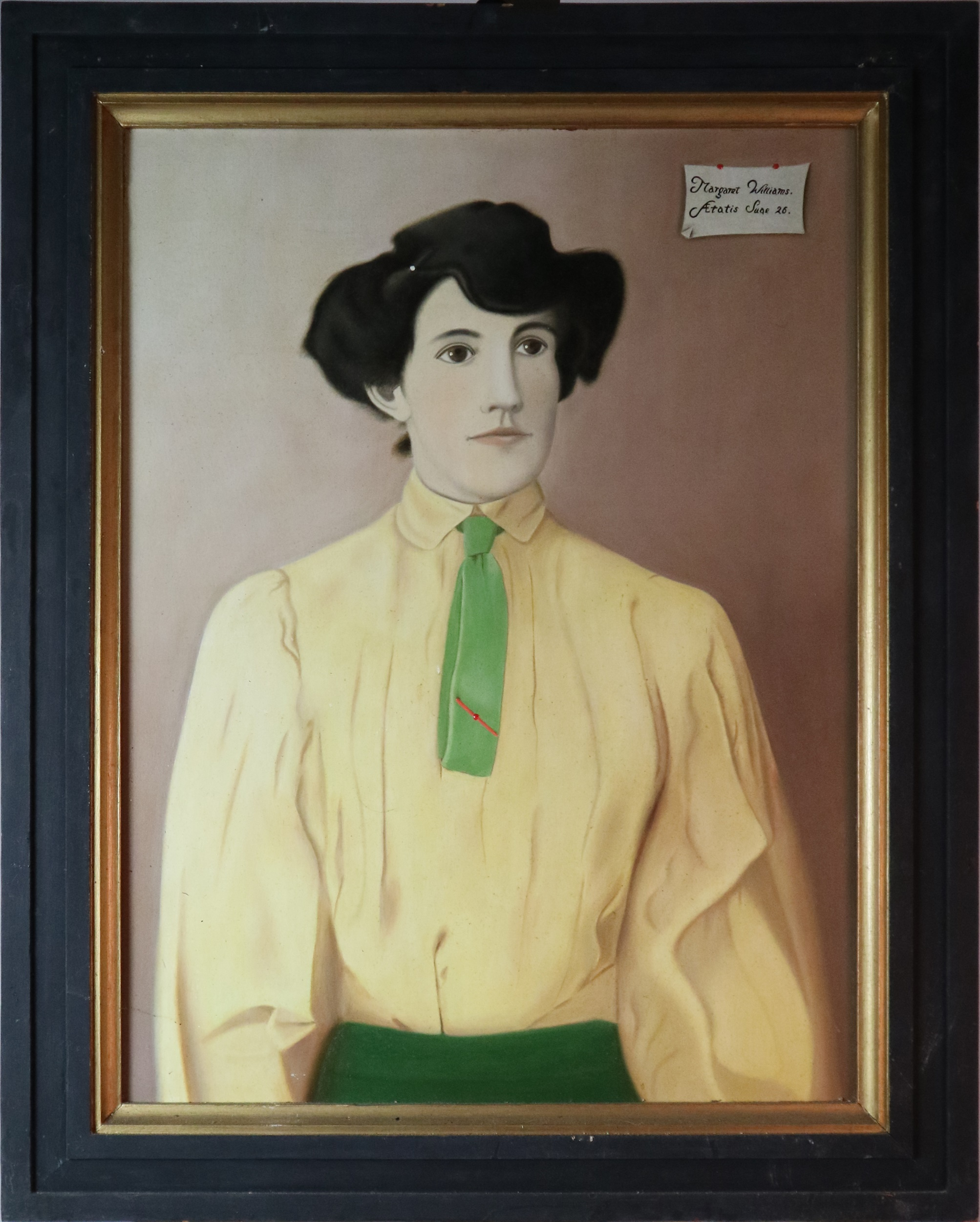 Pair of Portraits of Margaret Williams (1880-1969) of Pencoed Castle, Monmouthshire