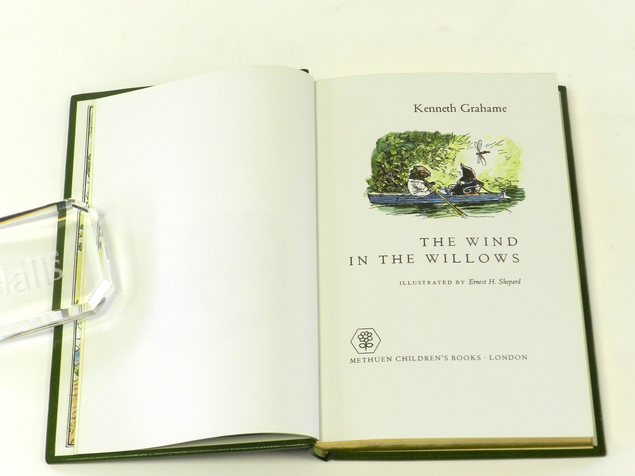 GRAHAME, Kenneth, The Wind in the Willows. Coloured Illustrations by E H Shepard. 1st edn, 1971. One of 250 copies signed by Ernest H Shepard