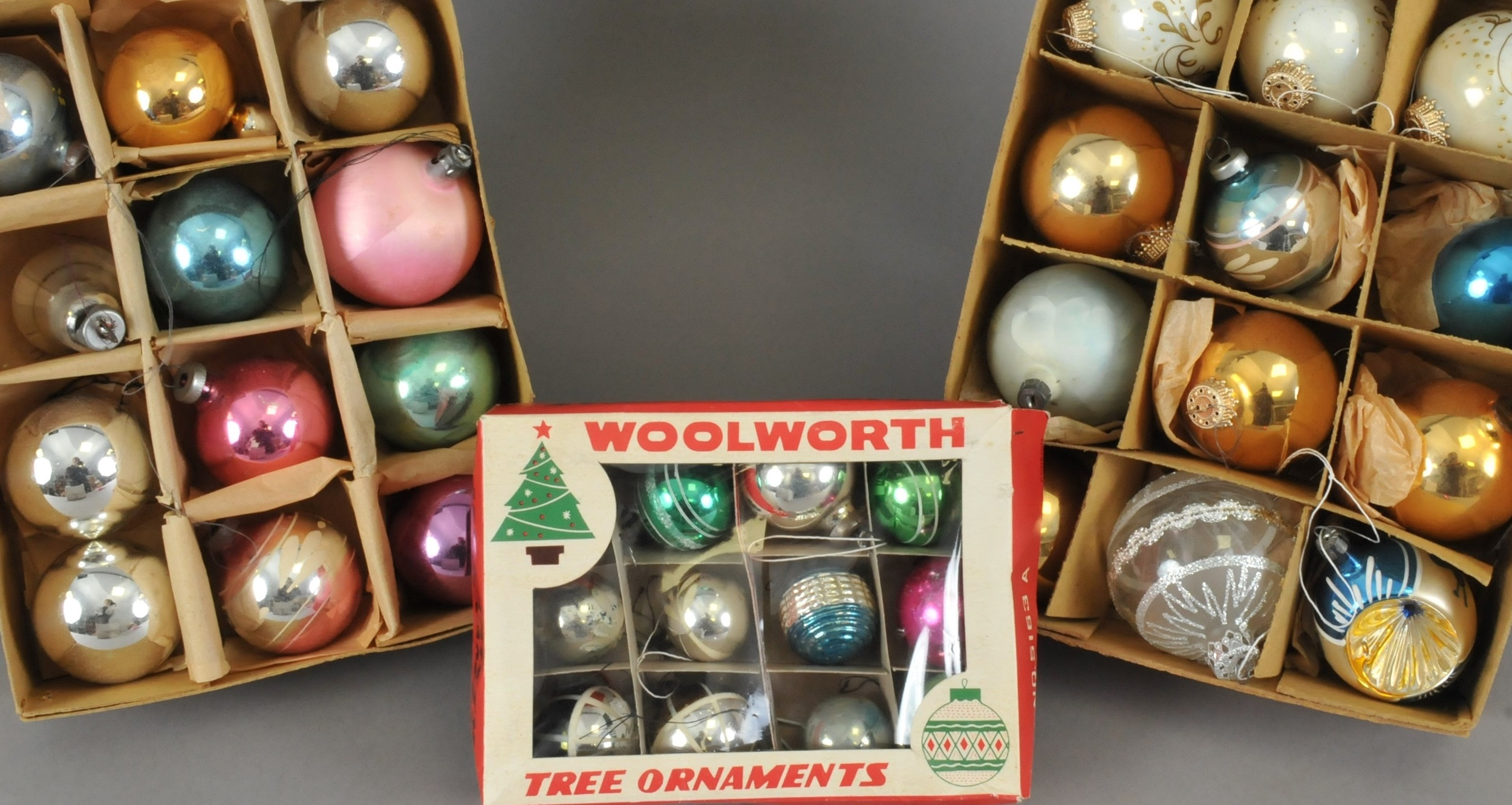 Christmas ornaments Halls Fine Art