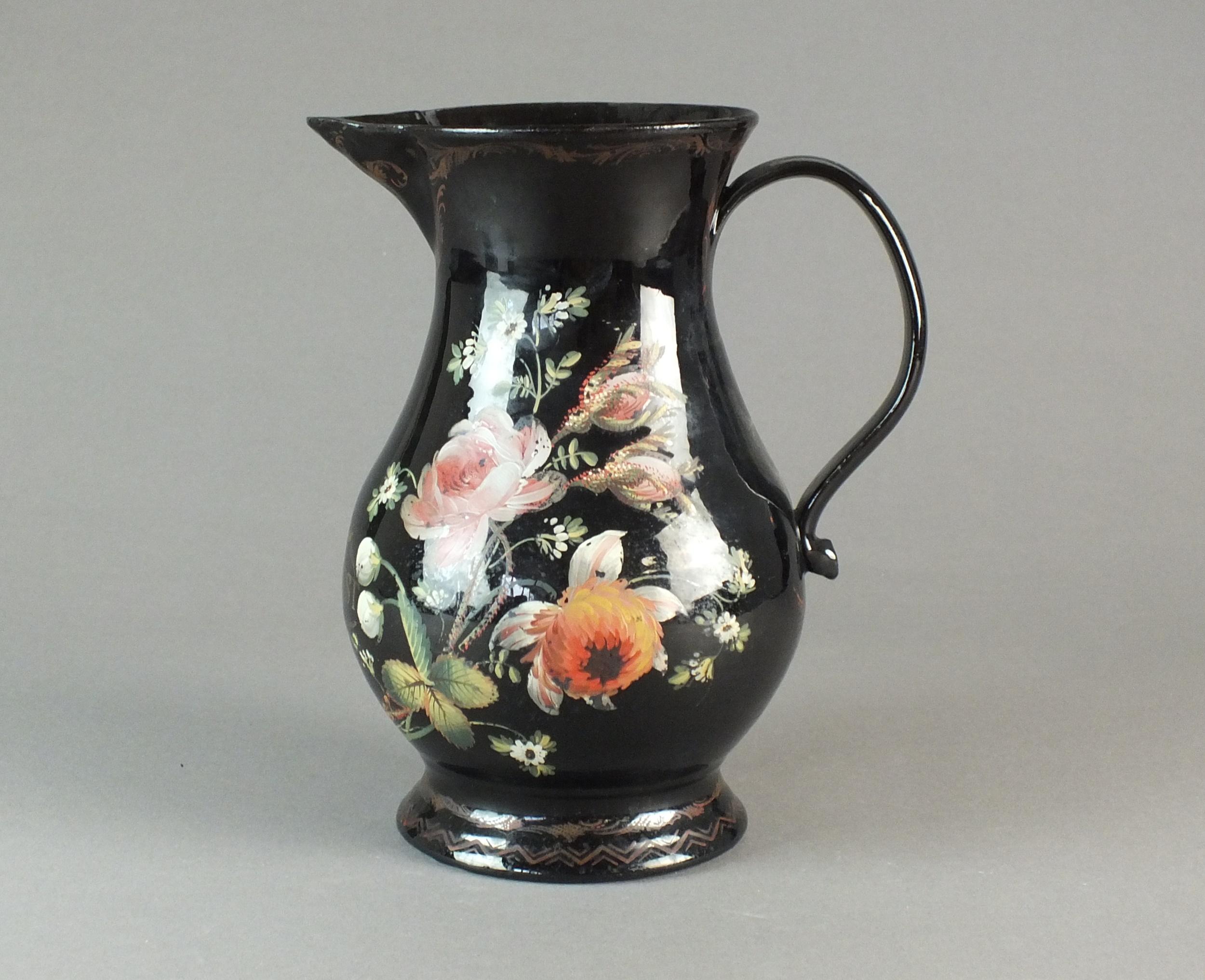 Jackfield jug Halls Fine Art