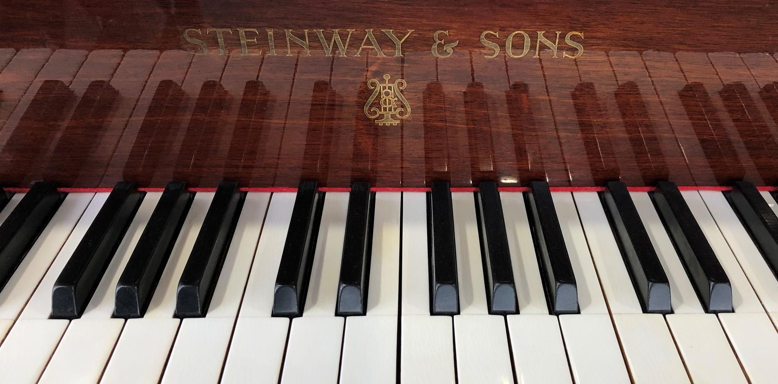 Steinway boudoir grand piano