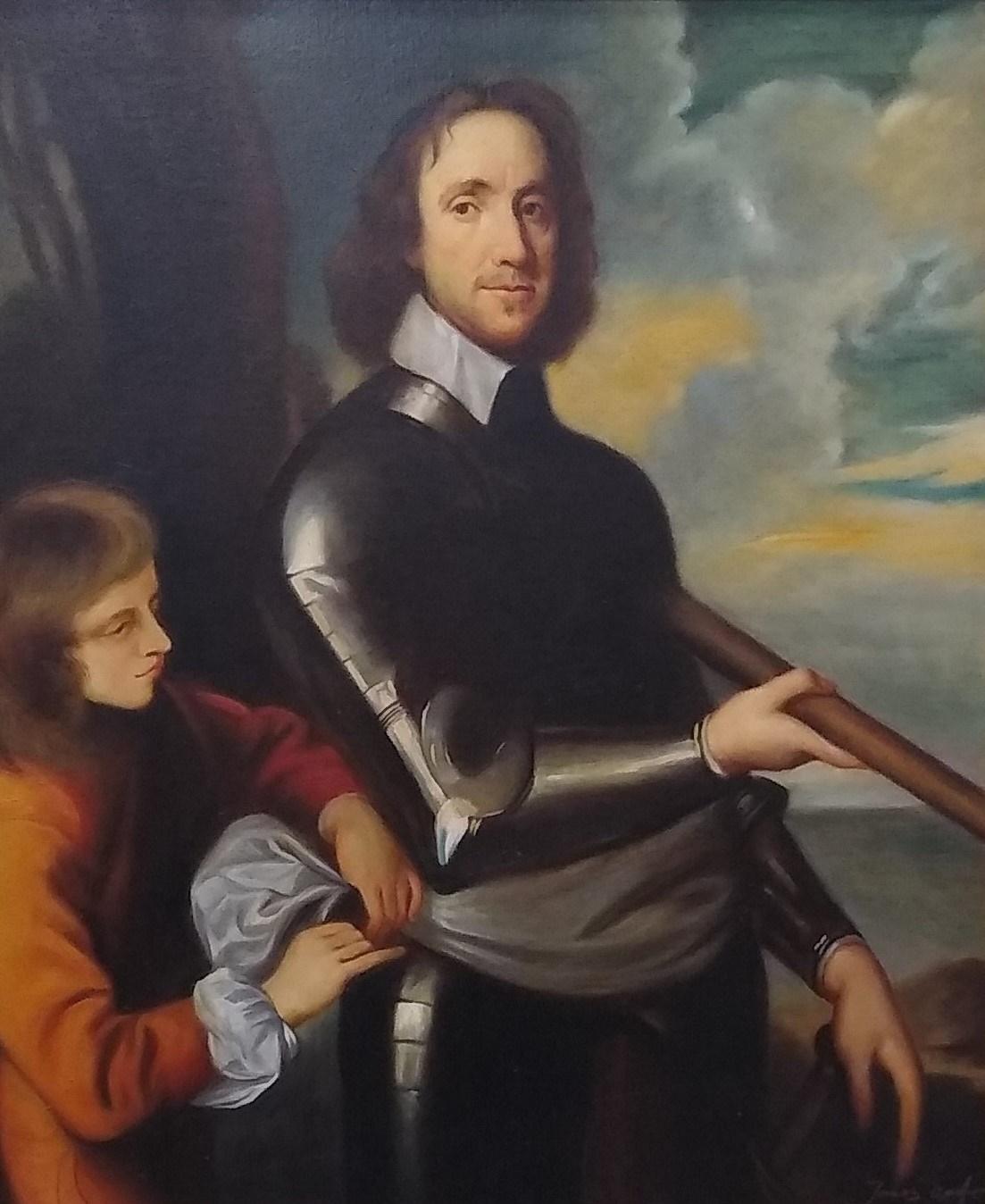 Oliver Cromwell halls fine art