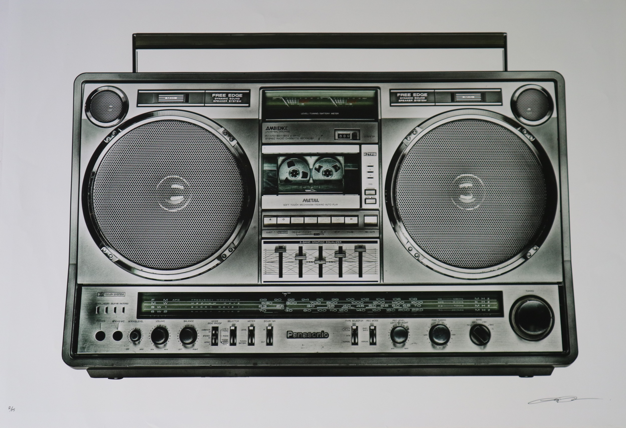 Lyle Owerko (Canadian Contemporary) Boombox 26 print