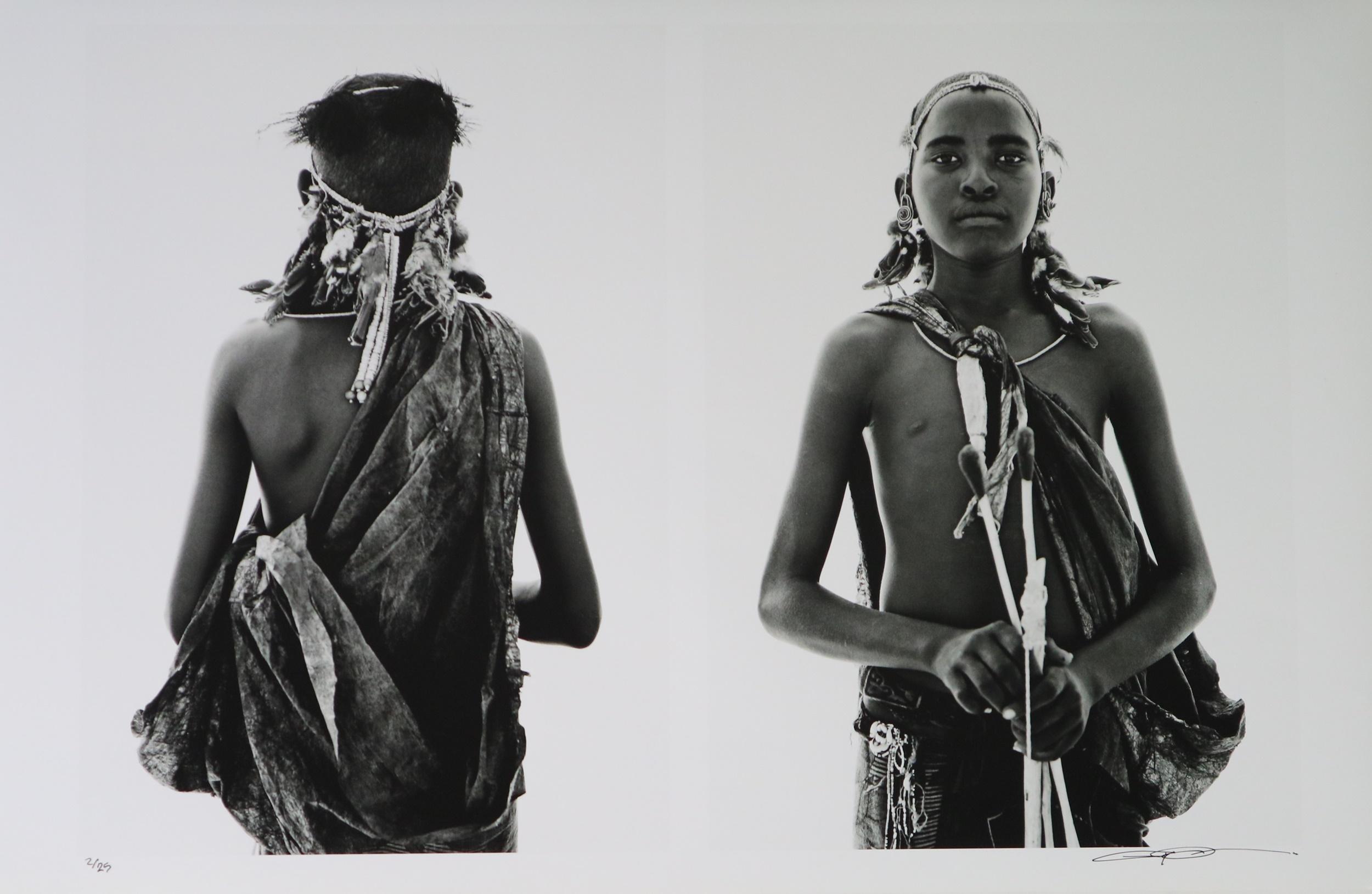 Lyle Owerko (Canadian Contemporary) Samburu Portrait Print
