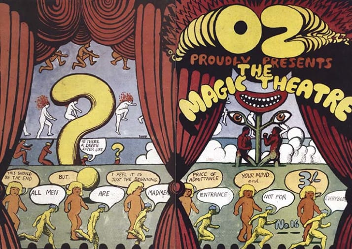 An example of Oz magazine
