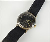 Lot 14-A stainless steel Hado wristwatch.