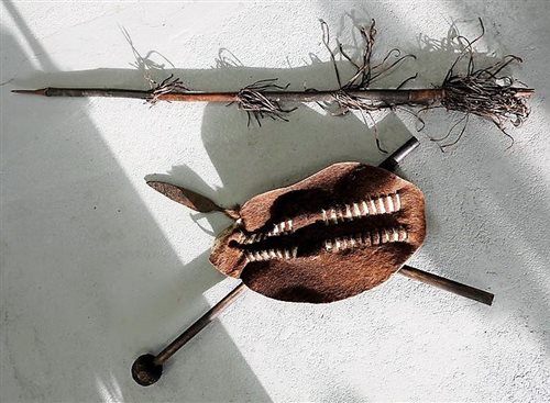 An African knobkerrie
