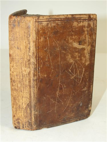34 - MANUSCRIPT. Receipt book of remedies and cures