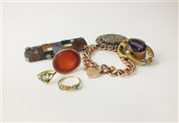 Lot 2-A collection of jewellery