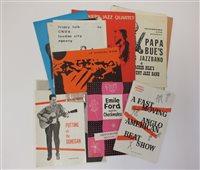 Lot 21-JAZZ PROGRAMMES, 1960s