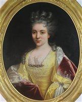 Lot 315-Follower of  Nicholas de Largilliere, portrait