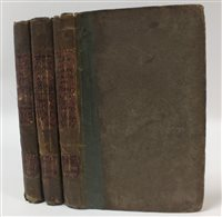 Lot 18-MAXWELL, W H, The Bivouac, or Stories of the Peninsular War