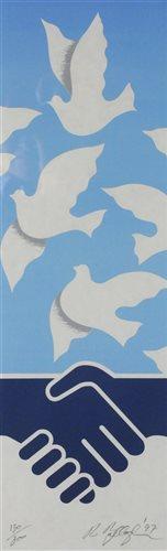 Lot 90-Robert Ballagh, print