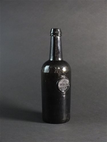 Lot 6-A H. Ricketts & Co sealed wine bottle