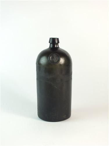 Lot 8-A sealed VR cylinder glass bottle