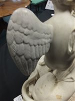 Lot 62-A Victorian parian group of The Power of Love