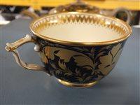 Lot 26-A Derby porcelain landscape service