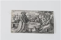Lot 56-Hans Sebald Beham (1500-1550), The History of the Prodigal Son, engraving