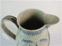 Lot 29-A named and dated English pearlware jug