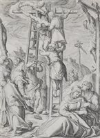 Lot 58-Jacob de Gheyn II after Karel van Mander