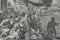 Lot 73-Jan Galle (1600-1676, Antwerp) after Jan Stradanus