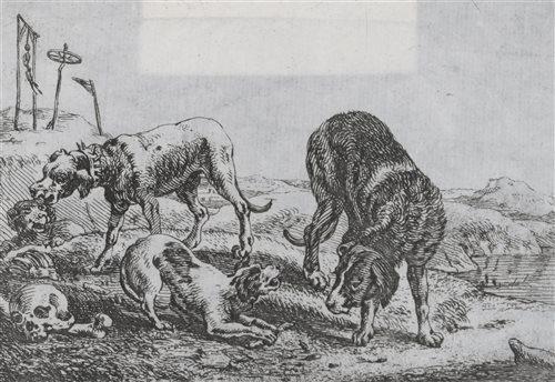 Lot 63-Theodorus van Kessel, engraving