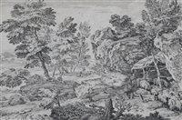 Lot 75-Adriaen van der Cabel, landscape