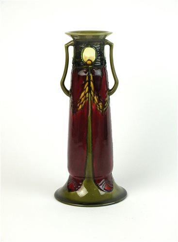 Lot 39-A Minton Secessionist vase