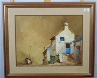 Lot 68-Jack R Mould, cottages, oils