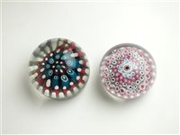 Lot 11 - Two English glass paperweights by HG Richardson