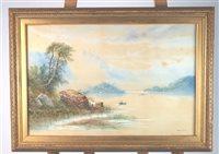 Lot 77-Edwin Earp watercolour