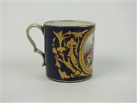 Lot 50-A Sevres porcelain coffee can