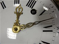 Lot 198-A Louis XVI ormolu striking cartel clock