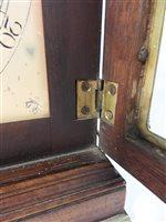 Lot 440-A George III mahogany bracket clock by James Maitland