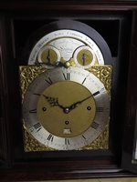 Lot 443-Eardley Norton: A George III mahogany and gilt brass mounted musical bracket clock
