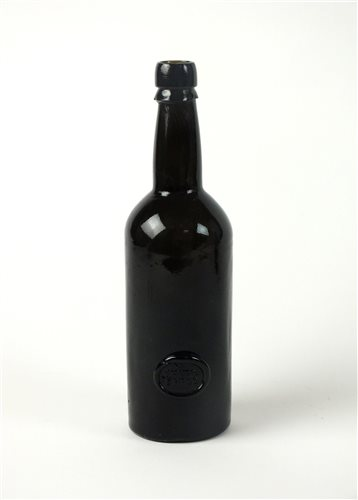 Lot 4-An Inner Temple sealed wine bottle