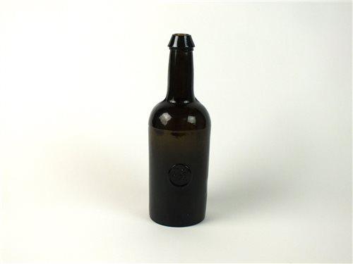 Lot 6-An Oxford University sealed cylinder wine bottle