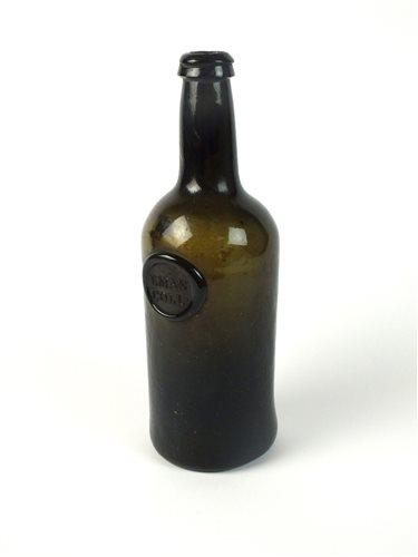 Lot 8-A Cambridge University sealed cylinder wine bottle