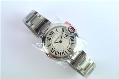 Lot 224-A Ladies Cartier Ballon Bleu Quartz Wristwatch