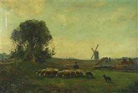 Lot 79-Belgian School, landscape