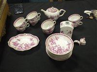 Lot 46-A Meissen porcelain tea and coffee service