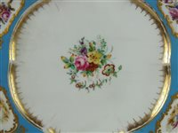 Lot 25-Ten Coalport porcelain plates