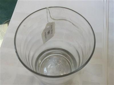 Lot 106-A 'Lynn' type lead glass tumbler, circa 1760