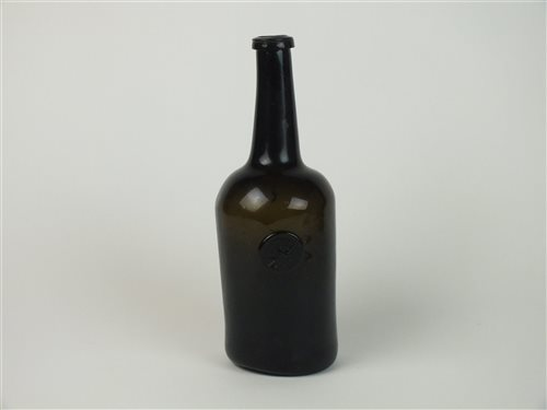 Lot 21-A late 18th century sealed wine bottle