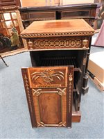 Lot 542-A pair of George III ormolu mounted mounted mahogany dining pedestals