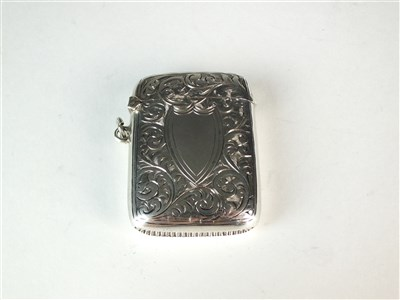 Lot 14-Three silver vesta cases