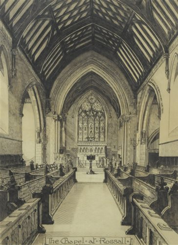 Lot 54-Five Rossal school etchings