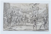 Lot 55-Attributed to Jan Goeree (1670-1731), Easter Tournament