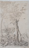 Lot 57-Van der Elst, pair of drawings